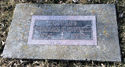 William Henry Effertz Gravestone